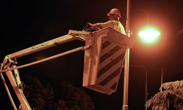Nuevas luminarias para veredas en General Pacheco