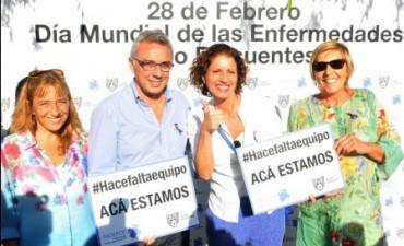 Tigre se sumó al Día Mundial de las Enfermedades Poco Frecuentes
