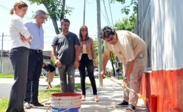 Trabajos de refacción y mantenimiento en la Escuela Nº 19 de Rincón de Milberg