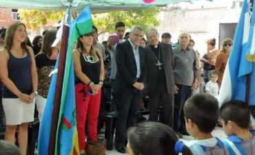 Zamora inauguró el nuevo edificio de Jardín de Infantes de Don Torcuato