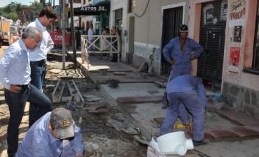 Prosigue la renovación del centro comercial de Don Torcuato