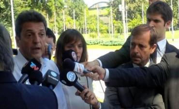 """Massa:""""En la Argentina que viene la justicia debe ser un protagonista central"""""""