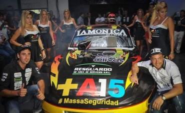 """Presentaron el""""Jumbo""""de Tigre que competirá en el TC Regional GTA"""