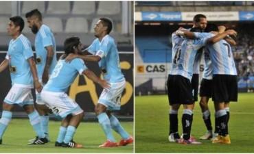 Racing vs Sporting Cristal por la Copa Libertadores en vivo por Open 99.3 Fm Infinity Radio y La Folk Argentina
