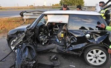 Le robaron el auto en Talar lo usaron una semana y lo encontraron porque volcó