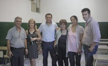 Gelay reparó Aulas de la Escuela Técnica N°3 de San Isidro