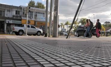 Renuevan espacios públicos de Tigre centro