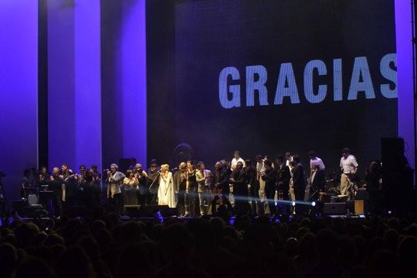 Así se festejaron los 80 años de Alfredo Zitarrosa en Montevideo