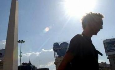 Miércoles caluroso en La Ciudad de Buenos Aires y el Conurbano bonaerense