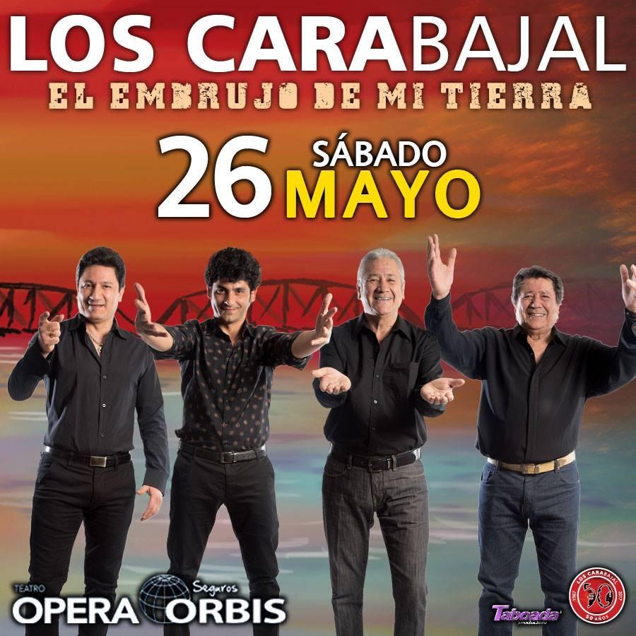 """Los Carabajal presentan """"El Embrujo de mi Tierra"""" Sábado 26 de Mayo Teatro Opera"""