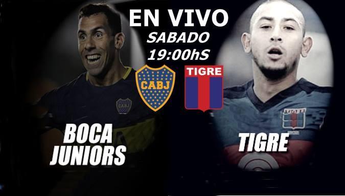 Este sábado desde las 19 Hs en VIVO desde la Bonbonera Boca vs Tigre por Argen TV y La Folk Argentina