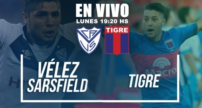 Vélez quiere alimentar su sueño de Libertadores en el duelo ante un complicado Tigre en VIVO por La Folk y Gen TV
