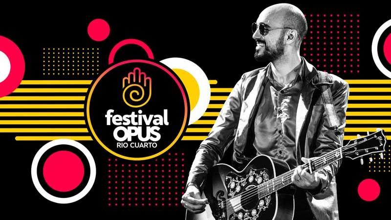 Abel Pintos en el Festival Opus de Río Cuarto 2019