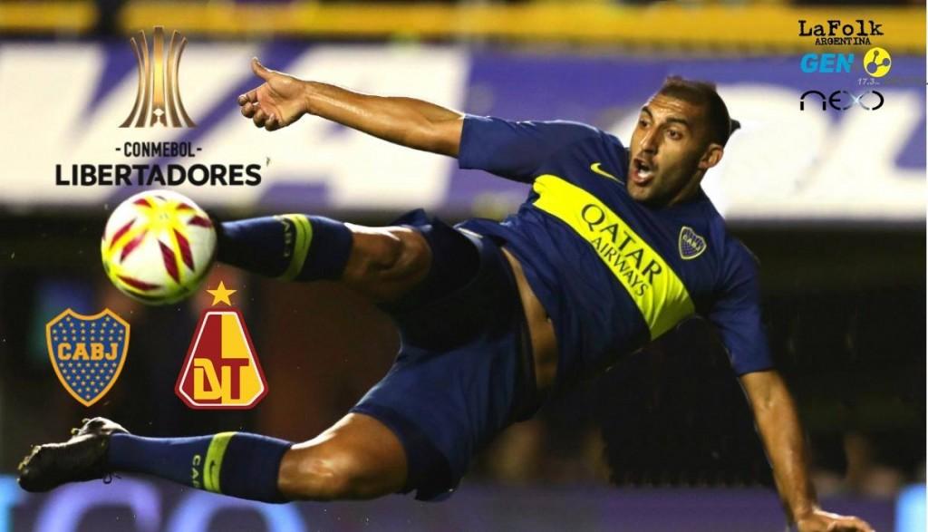 Frente a Tolima, Boca vuelve a jugar por la Copa Libertadores: EN VIVO por La Folk Argentina y Gen TV