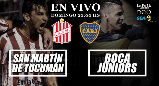 Boca vs. San Martín de Tucumán: chocan en La Ciudadela por la jornada 23 EN VIVO por La Folk Argentina y Gen TV