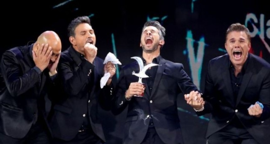"El grupo tucumano ""Destino San Javier"" ganó 2 Gaviotas en el Festival de Viña"