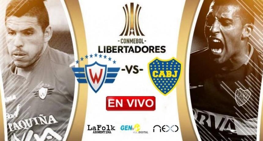 Boca y Wilstermann se enfrentan EN VIVO fecha 1 del grupo G de Copa Libertadores por La Folk Argentina