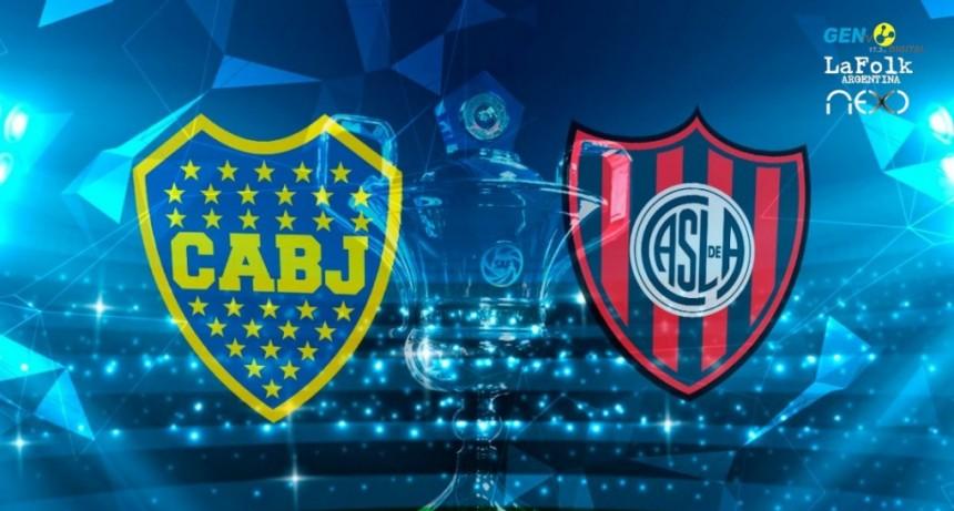 Boca Juniors vs San Lorenzo EN VIVO: por la fecha 22 de la Superliga Argentina por LA FOLK y GEN TV