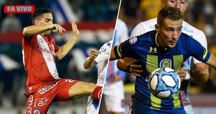 En la Paternal se disputará un duelo con copas en juego, Argentinos Juniors vs Rosario Central EN VIVO por La Folk Argentina