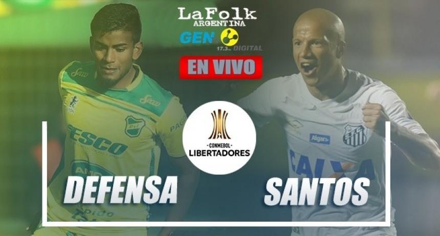 Defensa y Justicia vs Santos, por la Copa Libertadores 2020: EN VIVO por La Folk Argentina