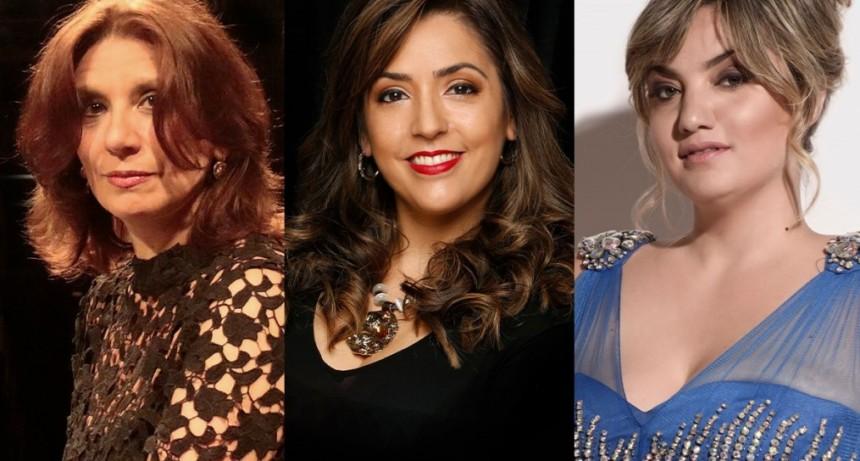 """""""Amor y vida de mujer"""", con Daniela Tabernig, Florencia Machado y Fernanda Morello"""