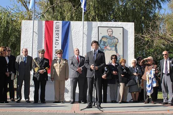 En San Isidro celebraron el 190 aniversario de la epopeya de los 33 Orientales