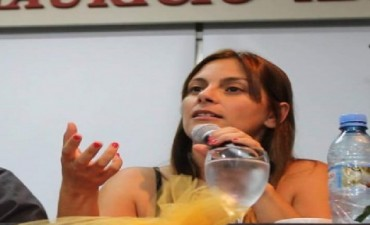 Micaela Ferraro Es una verguenza lo que están atravesando los docentes de Tigre