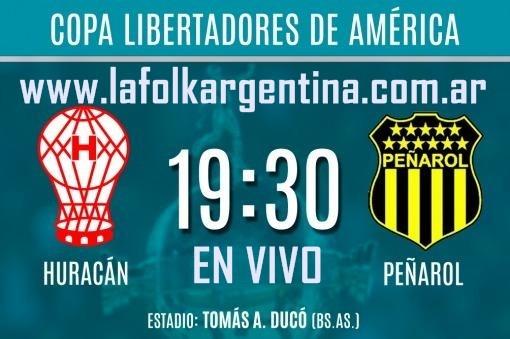 Huracán va por un triunfo ante Peñarol para quedar a un paso de los octavos en VIVO por La Folk Argentina