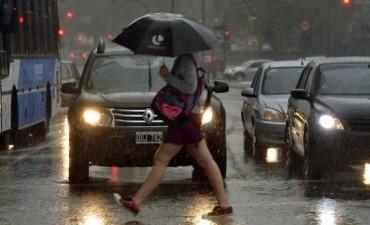 La semana termina con lluvias a la noche y una máxima de 29 grados