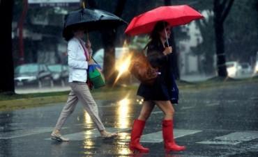 Fin de semana con lluvias en la Capital Federal y alrededores