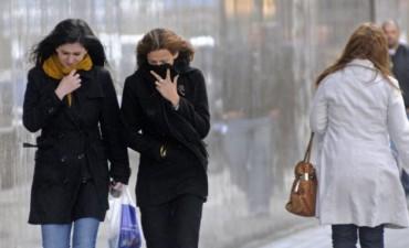 Emiten un alerta por la primera irrupción de aire frío en todo el país