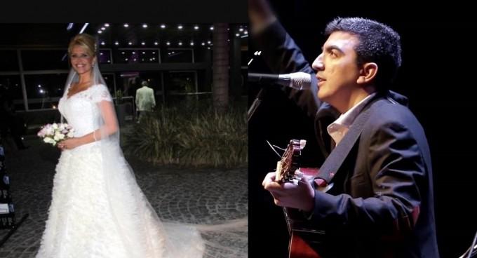 El guitarrista y compositor santiagueño Iván Camaño se casa con Nasarena Velez