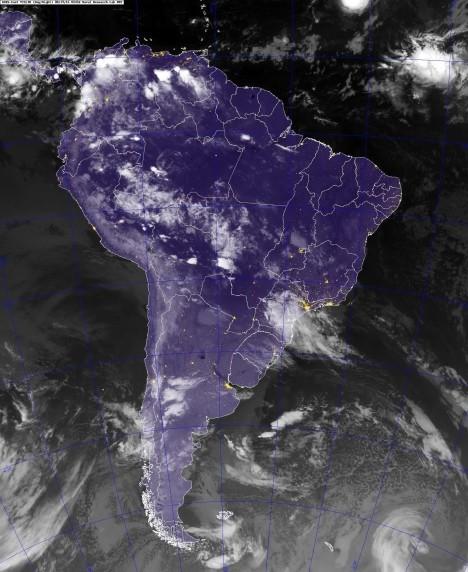 Pronóstico del tiempo para todo el país suministrado por el Servicio Meteorológico Nacional para las 23 provincias