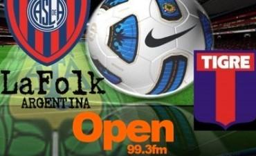 En el José Dellagiovanna el matador recibirá este domingo a San Lorenzo en VIVO por Open 99.3 Fm y La Folk Argentina