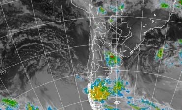 Pronóstico del tiempo suministrado por el Servicio Meteorológico Nacional para todo el país