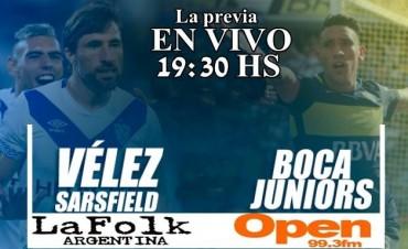 Boca quiere volver a tomar distancia en Liniers viví la previa desde 19:30 Hs por Open 99.3 Fm y La Folk Argentina