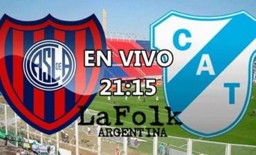 San Lorenzo necesita ganar para continuar en carrera en VIVO 21.15 Hs por La Folk Argentina