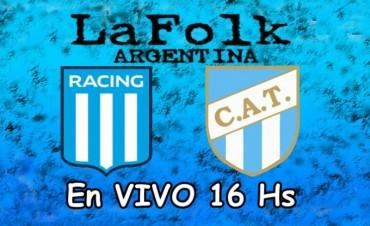 Racing recibe a Atlético Tucumán con la misión de extender su racha positiva en VIVO por La Folk Argentina