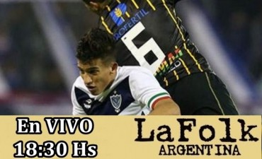 Vélez vs Unión de Santa Fe en VIVO a partir de 18:30 Hs por La Folk Argentina