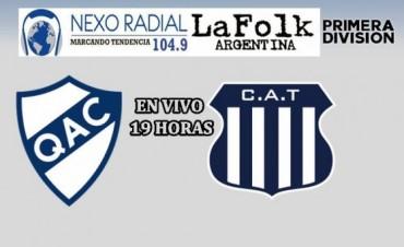 Quilmes Vs Talleres EN VIVO Campeonato de Primera División por NEXO 104.9 Fm y La Folk Argentina
