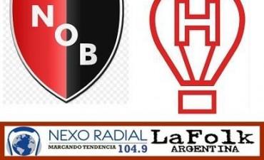 Huracán recibe a Newell's Old Boys en VIVO desde las 16:00 hs por Nexo 104.9 Fm y La Folk Argentina