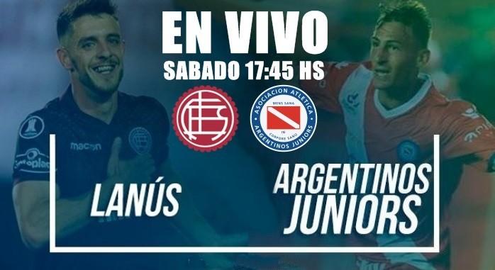 EN VIVO: Lanús vs Argentinos Juniors, Superliga 2017-18 por Argen TV y La Folk Argentina