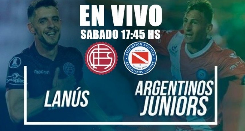 EN VIVO: Lanús vs Argentinos Juniors, Superliga 2017-18 por Argen TV y La Folk Argentina