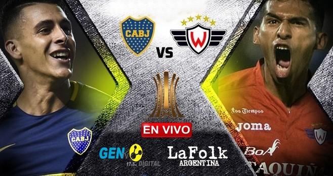 El 'xeneize' recibe al 'Aviador' Boliviano: partidazo hoy en La Bombonera por fecha 4 de Copa Libertadores 2019 EN VIVO por La Folk Argentina