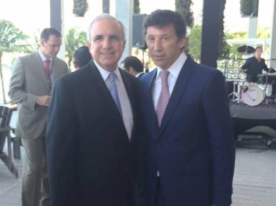 Posse viajó a Miami invitado por el alcalde de esa ciudad