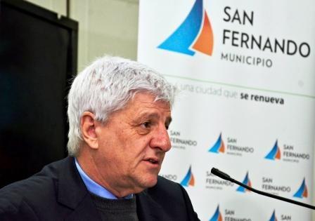 Mejora la salud del intendente de San Fernando Luis Andreotti