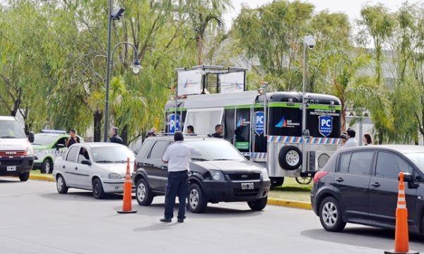 La nueva unidad móvil de Protección Ciudadana de San Fernando vigiló Bancalari