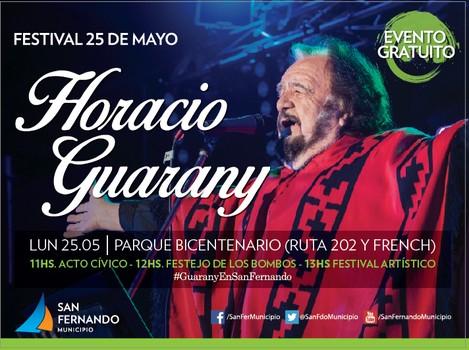 Horacio Guarany en San Fernando