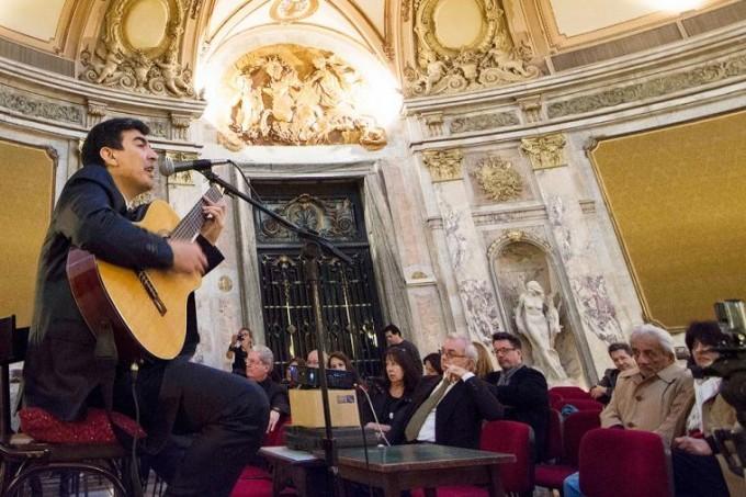 El santiagueño Iván Camaño presentó su nuevo disco