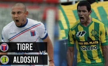 Tigre y Aldosivi buscan despedirse del torneo con una víctoria en VIVO por La Folk Argentina
